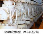 valves manual in the process.... | Shutterstock . vector #258316043