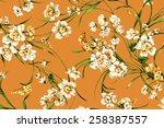 classic wallpaper vintage... | Shutterstock . vector #258387557
