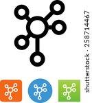 asymmetrical hub icon