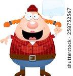 a cartoon illustration of a... | Shutterstock .eps vector #258752567