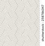 vector seamless pattern. modern ... | Shutterstock .eps vector #258786347