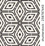 vector seamless pattern. modern ... | Shutterstock .eps vector #258787643