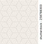 vector seamless pattern. modern ... | Shutterstock .eps vector #258788303