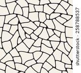 vector seamless pattern.... | Shutterstock .eps vector #258788537