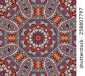 vector ornamental tribal...   Shutterstock .eps vector #258807797