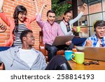 creative students with... | Shutterstock . vector #258814193