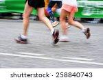 paris  france   april  06 ... | Shutterstock . vector #258840743