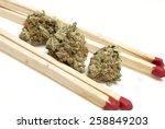 marijuana  | Shutterstock . vector #258849203