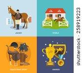 Jockey Design Concept Set With...