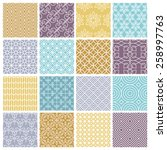 Vector Seamless Patterns Set I...