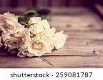 roses in a vase | Shutterstock . vector #259081787