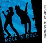 rock stars | Shutterstock .eps vector #25909024
