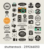 photography vintage retro icons ...