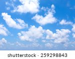 sky clouds | Shutterstock . vector #259298843
