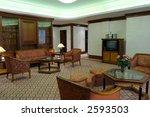 modern bedroom decor in green | Shutterstock . vector #2593503