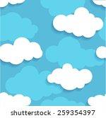 vector seamless pattern  ...   Shutterstock .eps vector #259354397