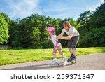 complete beginner roller... | Shutterstock . vector #259371347