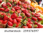 Fresh Red Strawberries Arrange...