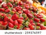 Fresh Red Strawberries Arrange...