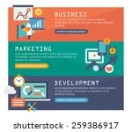 management digital marketing... | Shutterstock .eps vector #259386917