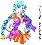 school girl | Shutterstock . vector #25938919