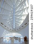 Interior Of The Milwaukee Art...