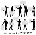 vector illustration of male... | Shutterstock .eps vector #259421723