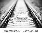 design element. railway image | Shutterstock . vector #259462853