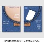 advertising flyer design... | Shutterstock .eps vector #259526723