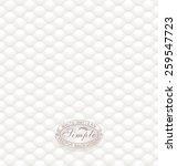 white seamless textured... | Shutterstock .eps vector #259547723