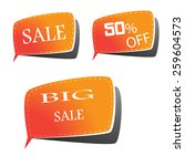 tag market | Shutterstock .eps vector #259604573