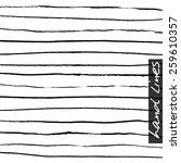 vector hand lines. background... | Shutterstock .eps vector #259610357