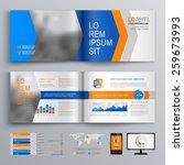 dynamic brochure template... | Shutterstock .eps vector #259673993