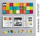creative brochure template... | Shutterstock .eps vector #259677107
