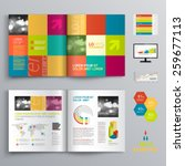 creative brochure template... | Shutterstock .eps vector #259677113