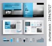 classic brochure template... | Shutterstock .eps vector #259678727