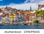 Porto  Portugal Old Town...