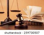 Law  Gavel  Books.