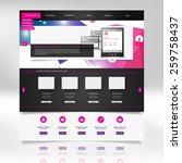 clean modern website template...