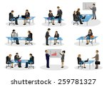 business people  different... | Shutterstock .eps vector #259781327