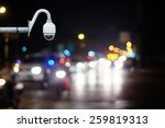 cctv camera on the road for... | Shutterstock . vector #259819313