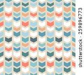 seamless geometric chevron... | Shutterstock .eps vector #259896773