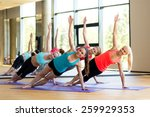 sport  meditation and lifestyle ... | Shutterstock . vector #259929353