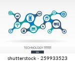 technology. growth abstract... | Shutterstock .eps vector #259933523