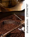 roasting process of coffee.... | Shutterstock . vector #259948787