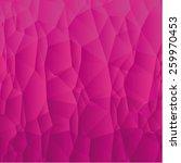 pink polygons | Shutterstock .eps vector #259970453