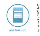 medical design  vector... | Shutterstock .eps vector #260024423