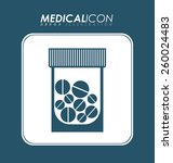 medical design  vector... | Shutterstock .eps vector #260024483