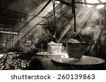 light with a haze of boiling... | Shutterstock . vector #260139863