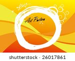 poster sample. | Shutterstock .eps vector #26017861